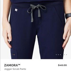 FIGS navy Zamora jogger pants